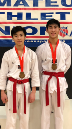 2018 AAU National Qualifier - Gabe and Thomas Le