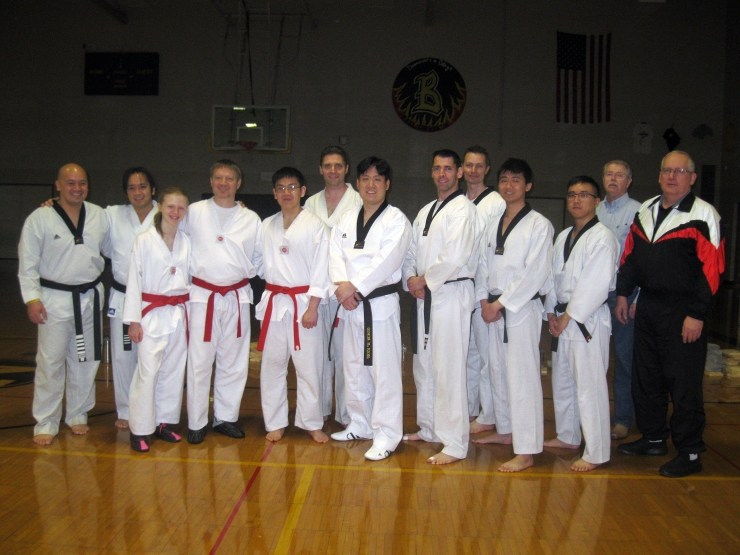 Photo of all Black Belts from the March 16, 2019 Black Belt Test