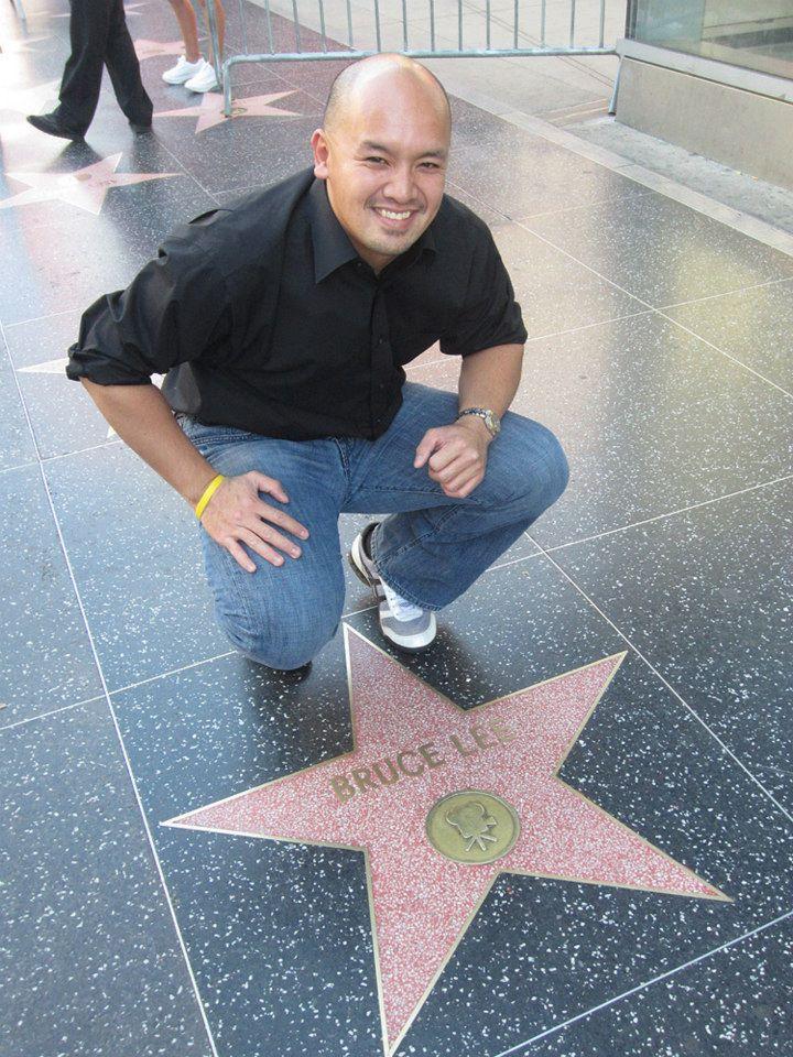 Bruce Lee Hollywood Star